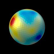 ico4, radius = 100 mm, FWHM = 35 mm